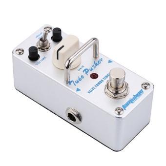 AROMA ATP-3 Tube Pusher Valve Combo Simulator Electric Guitar Effect Pedal Mini Single Effect (Intl)