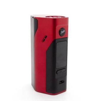 Wismec Reuleaux RX 2/3 Mod Rokok Elektrik - Hitam Merah