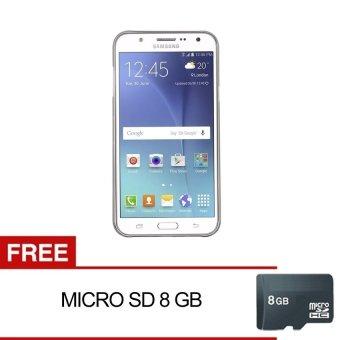 Samsung Galaxy J5 - 8GB - Putih + Gratis Memory Card 8GB