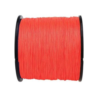 500m Super Strong Multifilament PE Braided Fishing Line 4 Strands 60LB (Red)