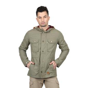 harga Eiger Jacket Lifestyle Poplyn Uno - Olive Lazada.co.id