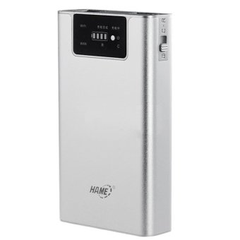 harga Hame F1-3G Mobile Power Router + Power Bank - 7800 mAh Lazada.co.id