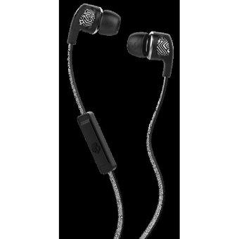 Skullcandy Headphone Dime In-Ear dengan Mic 1 - Putih - Geo - Hitam