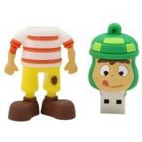 Cartoon Hamburger Man 32GB USB 2.0 USB Flash Drives Storage Drive Memory Stick (Green) (Intl)