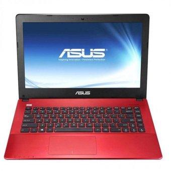 "Asus A455LF WX041T - 14"" - Intel Core i5 - 4GB RAM - 500GB - nVidia GeForce 930M - Merah"
