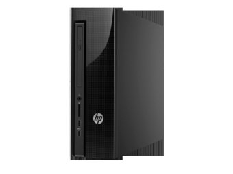 HP Pavilion Slimline 450-123D 81AA - 4GB - Intel Core i7 - Hitam