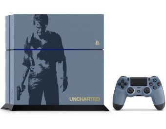 Sony PlayStation 4 500GB CUH 1206 Uncharted 4: A Thief's End Limited Edition