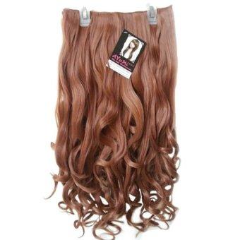 Ayumi Hairclip Big Layer Curly - Blonde