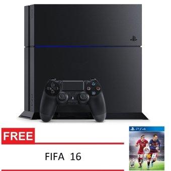 Sony Playstation 4 CUH1200 Reg Japan 500GB Jet Black Free FIFA 16
