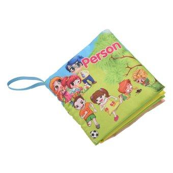 Fabric Books Educational Cloth Book Preschool Training Cartoon Baby Toy Person - Intl (Intl)