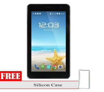Advan Vandroid X7 Plus - 8GB - Hitam + Gratis Silicon Case