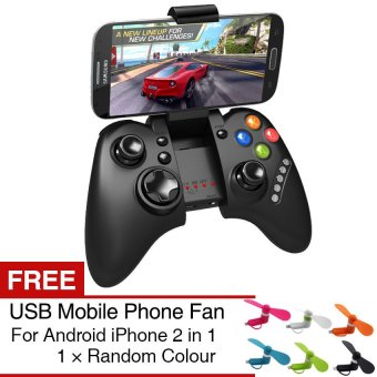IPEGA PG-9021 Bluetooth Wireless Game Pad Joystick Game Controller For Android IOS(Black) - Intl