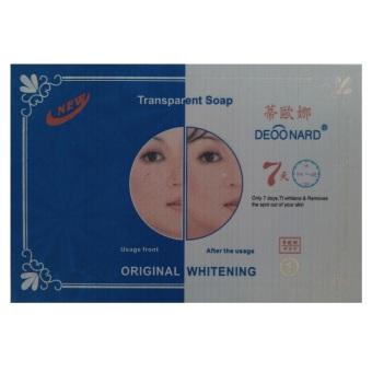 Deoonard, Sabun Transparan Hitam, Kulit Putih serta Cantik, 100g