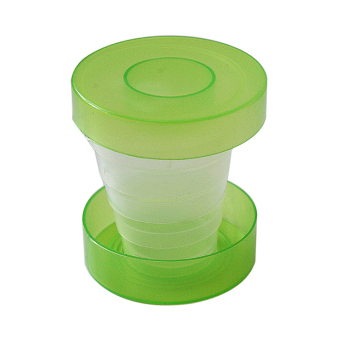 Sporter Plastic Folding Cup Telescopic Collapsible Outdoor Travel Camping (Intl)