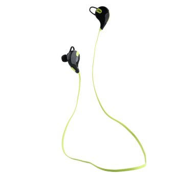 Aukey QCY QY7 Mini Bluetooth 4.1 Stereo Earbuds Headset Mic(green)