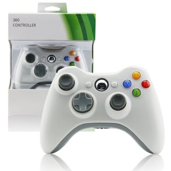 Wireless Bluetooth Gamepad for Xbox 360 (White) (Intl)