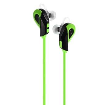 Bluetooth Headset for iPhone 6s Samsung S6 Tablet PC NoteBook other Bluetooth-enabled Devices (Green) (Intl)