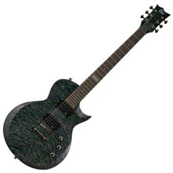 ESP Gitar Elektrik LTD EC100QM - See-Thru Black