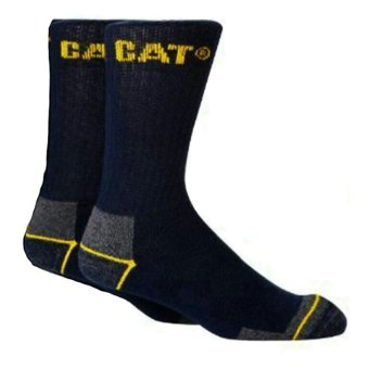 Caterpillar Socks Original Size Fit 39 - 45 Biru Tua