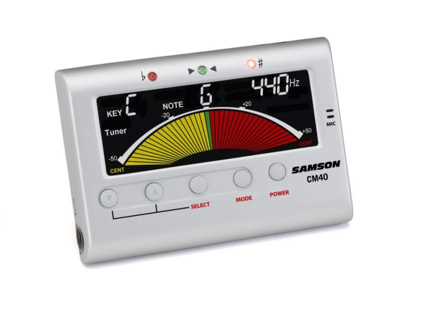 harga Samson CM40 Chromatic Tuner - Metronome - Silver Lazada.co.id