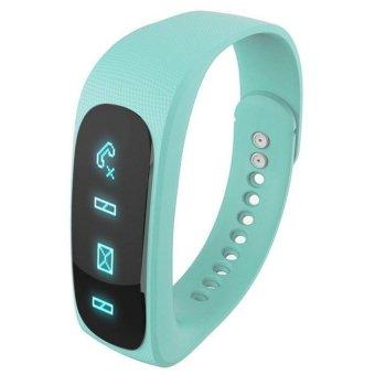 Wofalo E02 Bluetooth 4.0 Smart Sports Bracelet (Green) - Intl