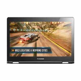 Lenovo Yoga 500 80R500-7GiD Notebook - Black [14 Inch/i5-6200U/4GB/Win 10 Home]