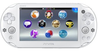 Sony PS Vita Wi-Fi SLIM 2006 White / Putih