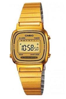 harga Casio - Jam Tangan Wanita - Stainless Steel - Emas - LA670WGA-9DF Lazada.co.id