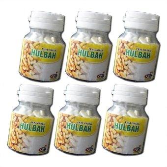 Hulbah Fenugreek Kapsul Booster ASI - 6 Botol