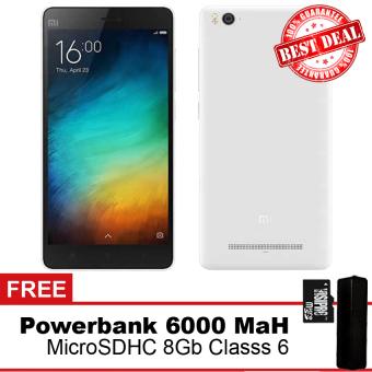 Xiaomi mi4i 2/16 + MicroSD 8Gb + PowerBank