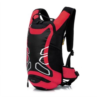 Cycling Bicycle Bike Backpack Outdoor Riding Travel Bag (Red) (Intl)
