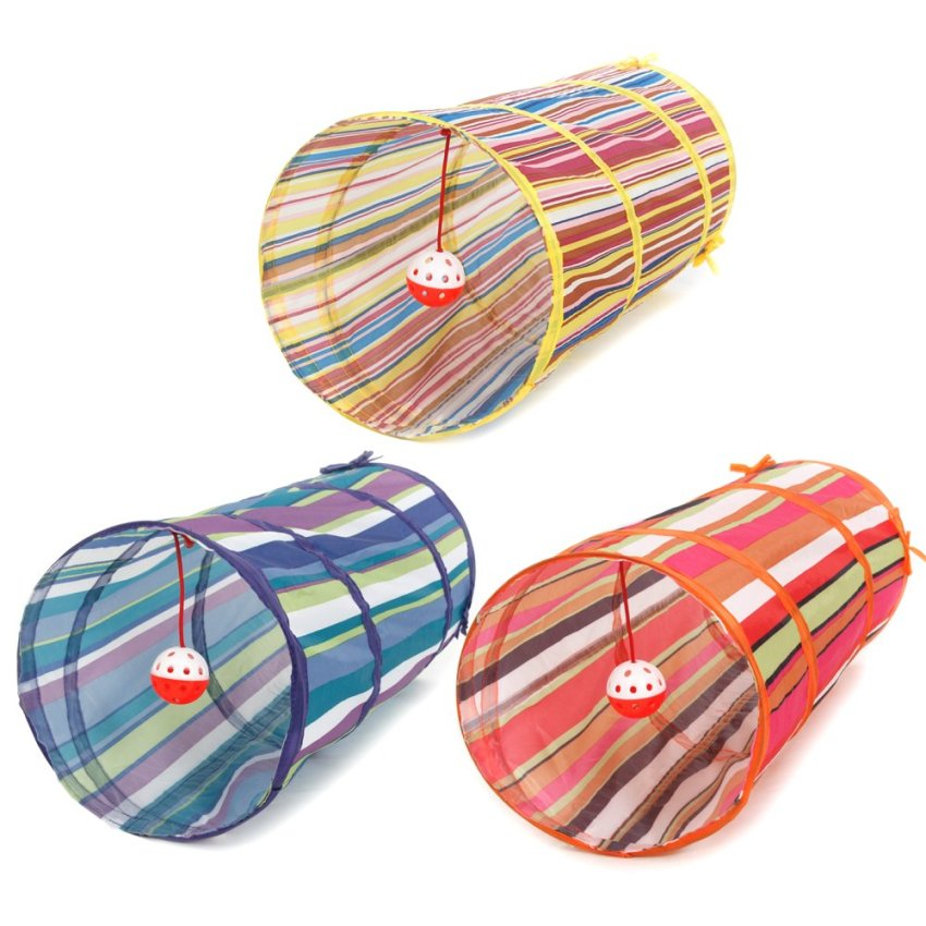 harga Cat Tunnel Colorful Tube Ball Sound Orange (Intl) Lazada.co.id