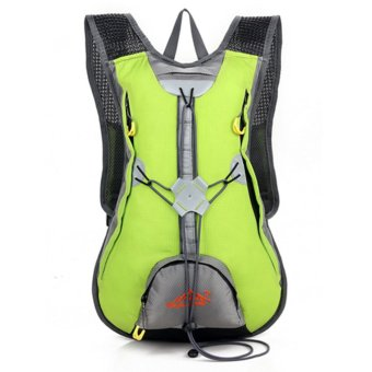 360WISH Outdoor Sports Backpack Waterproof Cycling Traveling Shoulder Bag Rucksack 1343A - Green (Intl)