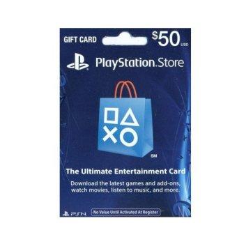 Sony PlayStation Network USD 50$ US PSN Card
