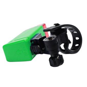 UJS Bicycle Bike Light Mountain Bike Tail Rear Lamp Riding Safety Caution Warning Adjustable Direction Light Green (Intl)