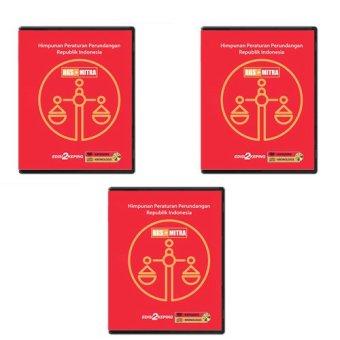 RGSMitra DVD Data Himpunan Peraturan Perundangan - 3 Pcs