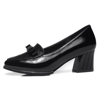 Women Breathable Generous Anti Slide Heel Shoes (Intl)