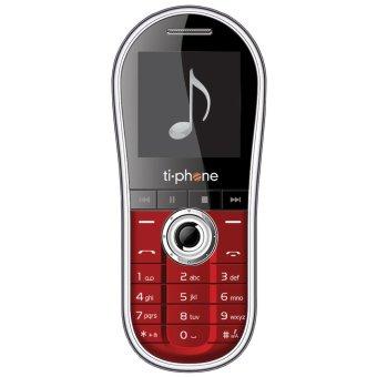 TiPhone T20K - Dual SIM - Merah