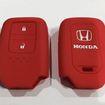 Jason Kondom Kunci Silikon Mobil Honda HRV Merah