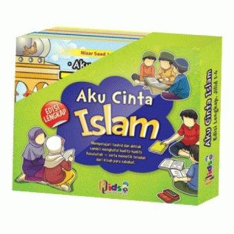 Perisai Quran Kids - Aku Cinta Islam Jilid 1-4