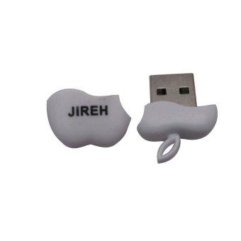 Jireh Card Reader Micro SD Unique Model Apple Putih