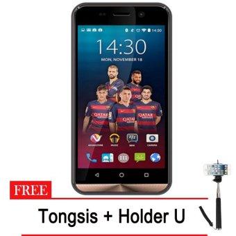 Advan Vandroid I45 4G LTE - 8GB - Gold + Gratis Tongsis