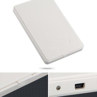 WiseBuy USB 2.0 Enclosure External Caddy Case for SATA 2.5??????Hard Disk Drives IDE White