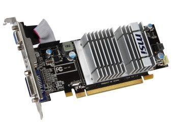 harga MSI R5450-MD1GD3H/LP ATI Radeon HD 5450 Graphics Card PCI-e 1 GB DDR3 Memory Dual DVI HDMI Lazada.co.id