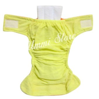Ummi Baby Celana Bayi Anti Bocor Model Clodi Isi 2 buah Size S .