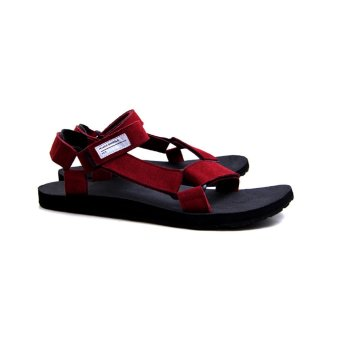 harga Hijack Sandals - Kato Red Suede Lazada.co.id