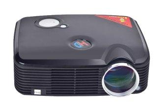 JIANGYUYAN PH5 Multimedia HD Image System Cinema Theater LCD Projector (Black,UK Plug) (Intl)