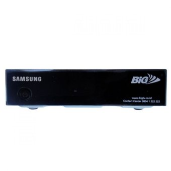 BIG TV Samsung HD + Paket 4 Bulan - Hitam