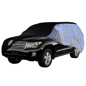Urban Sarung Body Cover Mobil Urban For KIA Pride - Silver-Hitam