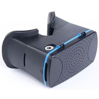 Cardboard Leather Head Mount 3D Virtual Reality